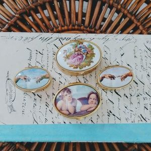 Four Limoges Boxes